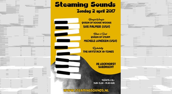 Steaming Sounds! Festival met Sue Palmer (USA), Michele Lundeen (USA) en the Haystack Hi-Tones