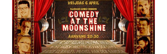 Comedy at the Moonshine