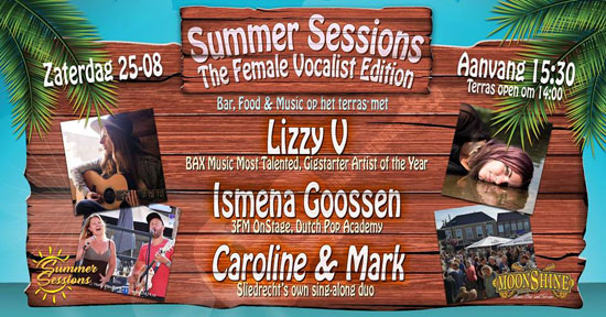 Summer Sessions - The Female Vocalist Edition