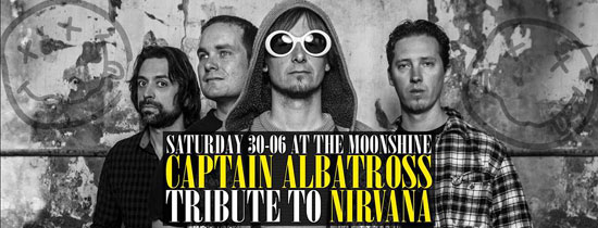 Nirvana tribute in The Moonshine