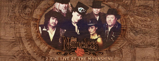 The Nameless (countryrock) in The Moonshine