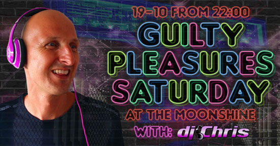 Guilty Pleasures met DJ Chris in The Moonshine