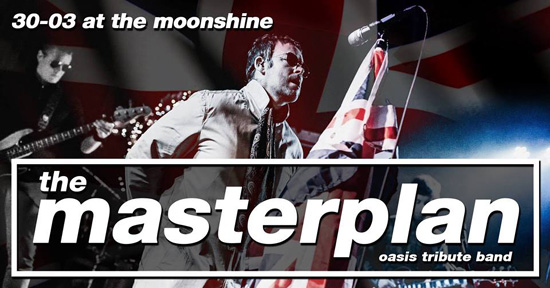 The Masterplan - Oasis Tribute in The Moonshine